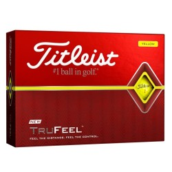 Titleist DT TruFeel Yellow