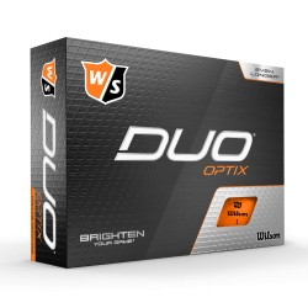 Wilson DUO Optix Orange
