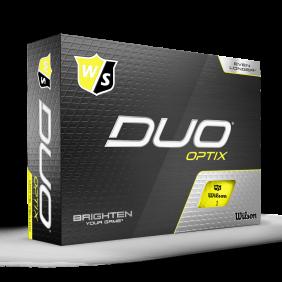 Wilson DUO Optix Yellow